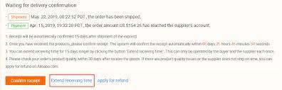 Confirm Of Receipt Alibaba Com Help Center