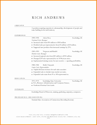 Retail Resume Templates New Resume Templates Retail Free Resume Sample