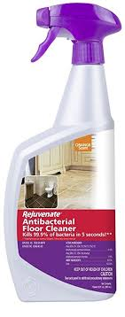 rejuvenate antibacterial floor cleaner kills 99 9 of household bacteria within 5 seconds disinfects and