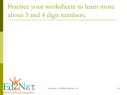 Copyright © Ed2Net Learning, Inc.1 Adding without regrouping 3 and ...