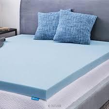 memory foam mattress topper queen. Exellent Foam LUCID 3inch Gel Memory Foam Mattress Topper  Queen For R