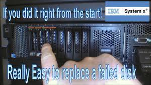 Ibm Server X3400 Orange Light Ibm Server Easy To Replace A Defective Disk 137