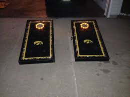 Verus Sports Glo Bright Light Up Bean Bag Toss Game Plexiglass Cornhole Boards Cornhole Boards Cornhole Beer