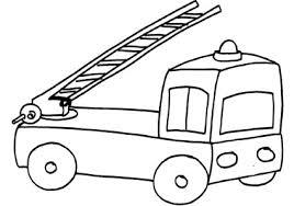 Camion Dei Pompieri Da Colorare Cose Per Crescere