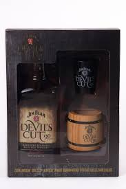 jim beam bourbon devil s cut gift set 750ml