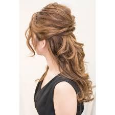 ふわっとルーズなハーフアップ Brotoブロットのヘアスタイル 美容