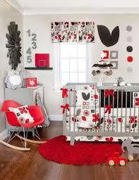 Baby Nursery Decor, Amazing House Red Baby Nursery Decorative Minimalist  Simple Designs Numbers Toys Fur
