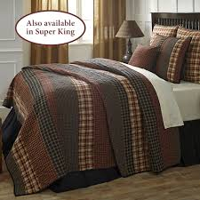 Beckham Rustic Plaid Quilt Set &  Adamdwight.com