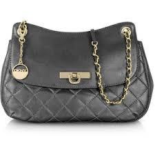 DKNY Gansevoort Black Quilted Leather Shoulder Bag w/Adjusta ... & DKNY Gansevoort Black Quilted Leather Shoulder Bag w/Adjustable Strap Adamdwight.com