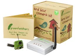 wildlife s green feathers wireless bird box with night vision