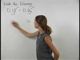 dividing decimals mathhelp com pre algebra help