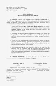 Joint Affidavit Late Or Delayed Registration Of Birth Filesishare