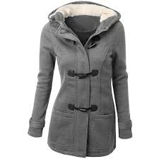 hooded double light gray 2xl