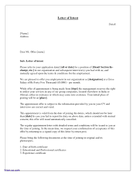 10 Graduate School Letter Of Intent Example Proposal Sample
