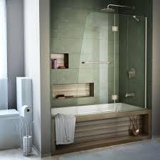 dreamline aqua 48 in w x 58 in h bathtub door