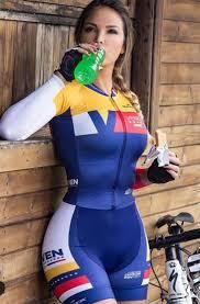 female-cycling-fashion (4) | Спортивные женщины, Женский ...