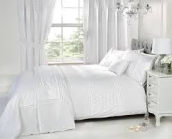 white luxury bedding set plain fl embroided ter cushion available