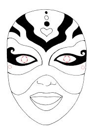 Maschere Di Carnevale Da Stampare E Colorare Gratis