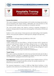 n academy of management science flyer sit diploma of  flyer doc diploma of hospitality v2 4 05 14 page 1
