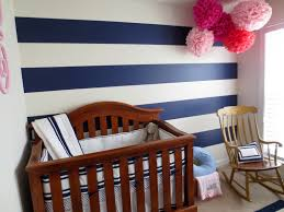 vintage wooden nursery room furniture with blue lined pottery barn sailboat theme decor plus decorative ornament