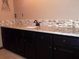 Spectacularideasbathroombacksplashpictureseasygranite Beauteous Kitchen Backsplash With Granite Countertops Decoration