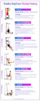 bowflex workout plans workoutwalls