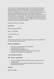 Resume Template Zety Painter Skills Resume Examples Inspirational