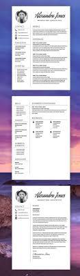 2107 Best Cv Resume Design Images On Pinterest Best Cv