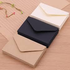 Black And White Invitation Paper Us 0 78 52 Off 20pcs Classical White Black Kraft Blank Mini Paper Window Envelopes Wedding Invitation Envelope Gift Envelope In Paper Envelopes From