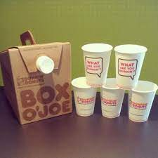 How much does food cost? Coffee In A Box How Wonderful Coffee Box Dunkin Donuts Dunkin Donuts Coffee