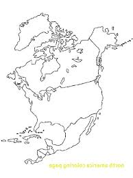 North America Coloring Page Stvx North America Map Coloring Page