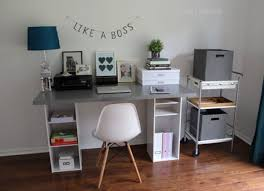 build your own office desk. office ikea hack build your own desk f