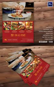 restaurant flyer template 56 word pdf psd eps indesign simple restaurant flyer template