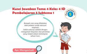 We did not find results for: Kunci Jawaban Tema 4 Kelas 4 Halaman 37 38 39 40 41 42 43 Pembelajaran 5 Subtema 1 Halo Belajar