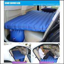 Backseat Inflatable Bed Xelectron Car Inflatable Bed With Electric Pump Pillow Puncture