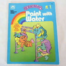 Hobnobbins Vintage Paint With Water Coloring Book Playskool Paint