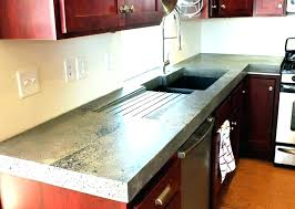 concrete countertops concrete vs quartz how much do cost inspiration together with polished tan