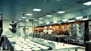 restaurant kitchen lighting. A Brightly Lit Kitchen Restaurant Lighting