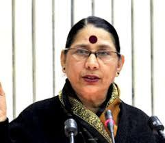 Smt. Krishna Tirath, Minister for Women and Child Development,