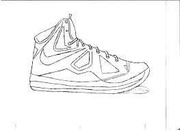 lebron shoes coloring pages shoes coloring pages in amusing free draw lebron shoes coloring sheets
