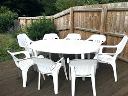 outdoor table and chairs set garden table and chairs 8 seat white plastic garden table chair