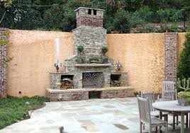 how to build an outdoor brick fireplace of outdoor brick fireplaces mason lite by masonry how
