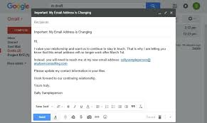 Change Of Address Who To Notify Template For Change Of Address Doc Office Letter Format Notice Email