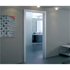 single pocket doors. eclisse glass sliding pocket door system - single kit supplied with 100mm doors s
