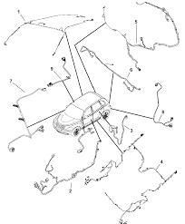 2007 chrysler pt cruiser wiring body