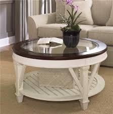 ikea glass coffee table round