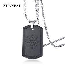 whole unique quantum scalar energy pendant necklace fashion bio mens magnetic hematite necklace negative ion with 22 7 piece on jerry110 s