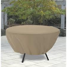 classic accessories terrazzo round patio table cover all weather