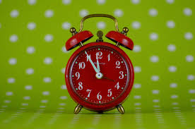 Image result for late alarm clock