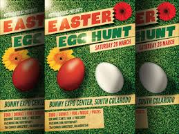 Easter Egg Hunt Flyer Template 2 By Christos Andronicou - Dribbble